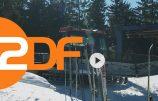 Der Skihang im ZDF